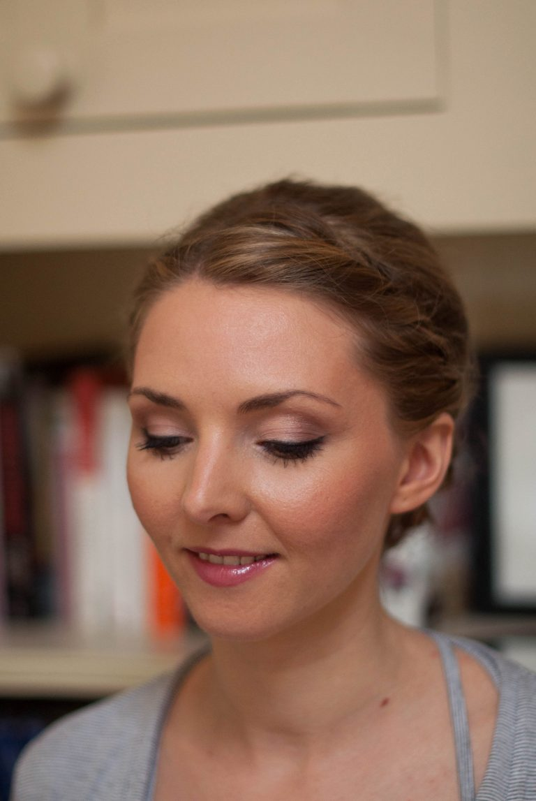 Soft and feminine bridal makeup