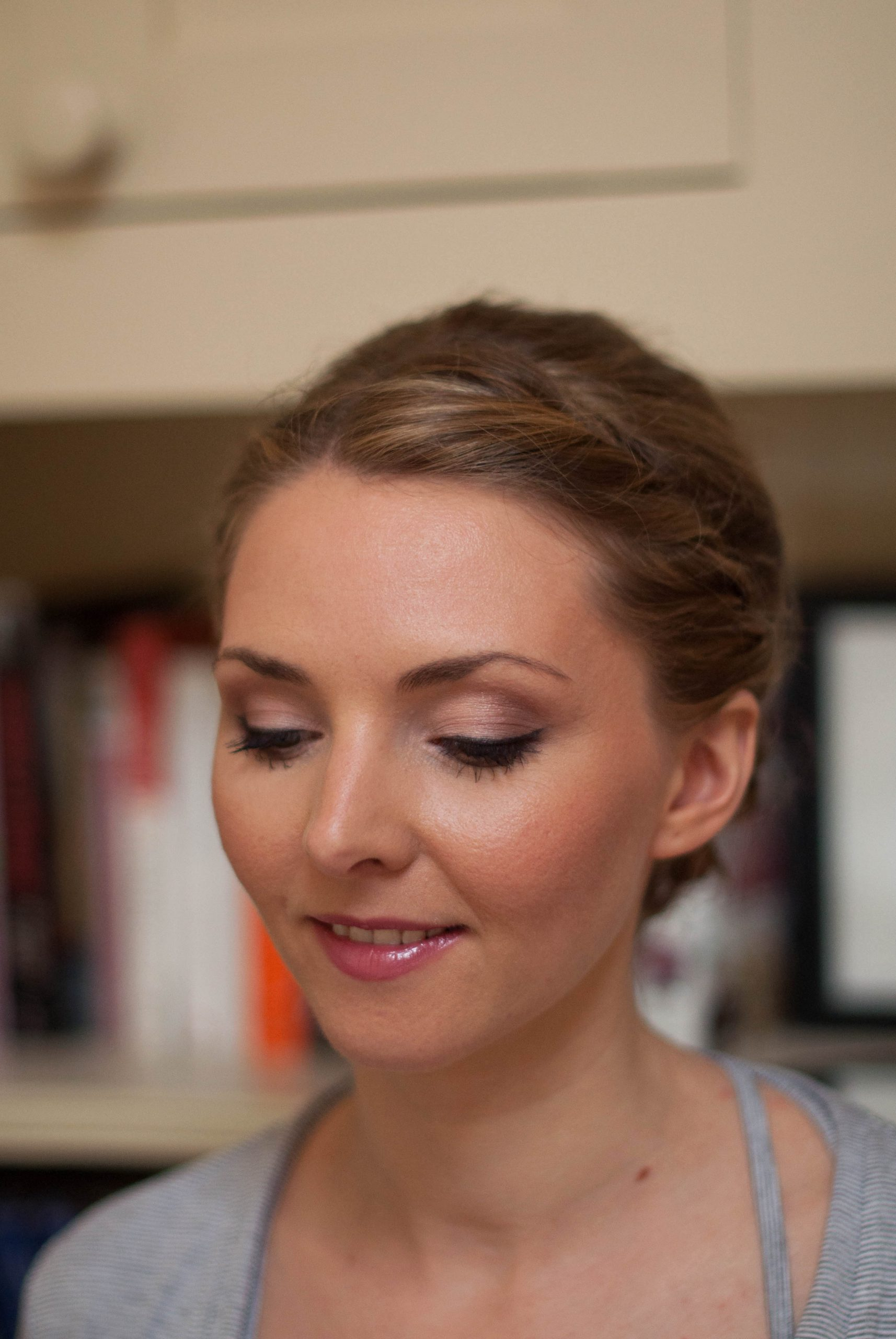 Soft and feminine bridal makeup