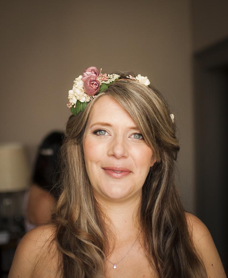 Helen's Boho Wedding Makeup