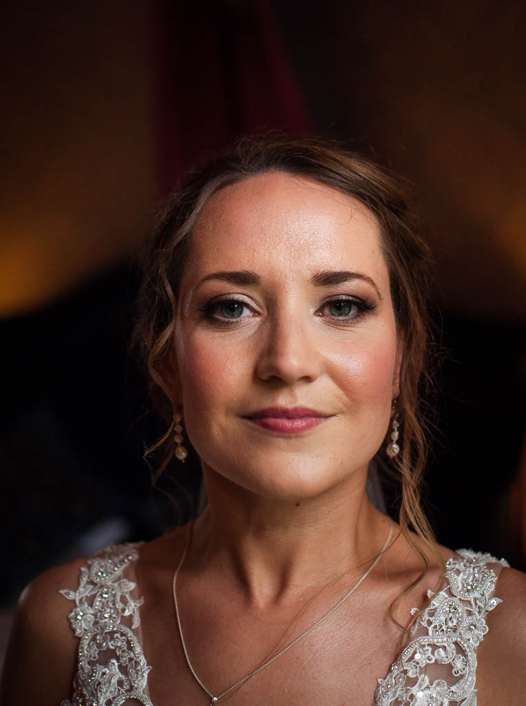 Mature bride, airbrush, hair and makeup