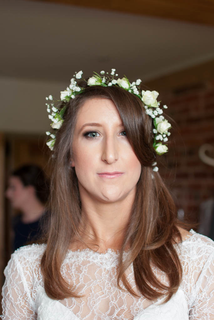 Jemma's Natural Wedding Makeup